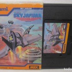 Videojuegos y Consolas: JUEGO CARTUCHO MSX, SKY JAGUAR, KONAMI 1984. Lote 98510563