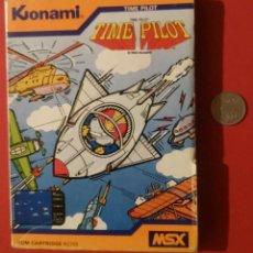 Videojuegos y Consolas: VIDEOJUEGO TIME PILOT PARA MSX DIFICILISIMO DE CONSEGUIR. Lote 99115619