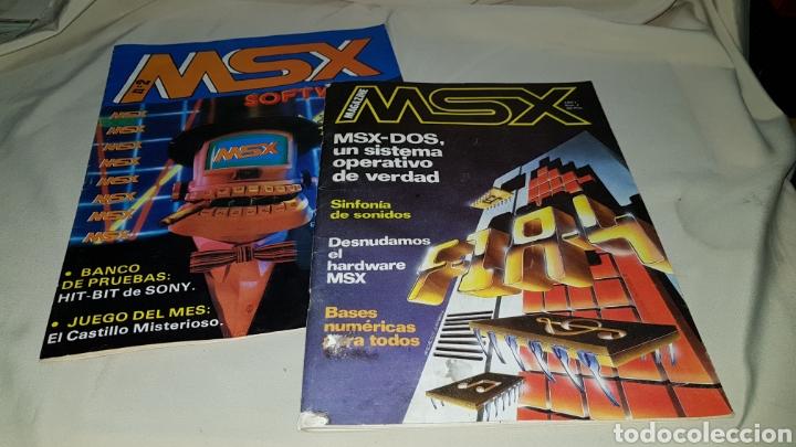 2 NÚMEROS REVISTA MSX SOFTWARE N°2 Y MSX MAGAZINE N° 2 (Juguetes - Videojuegos y Consolas - Msx)