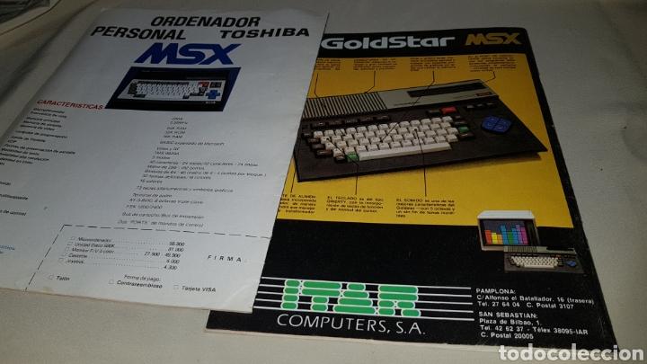 Videojuegos y Consolas: 2 números revista msx software n°2 y msx Magazine N° 2 - Foto 3 - 100004559
