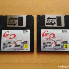 Videojuegos y Consolas: JUEGO MSX2 GREATEST DRIVER T&ESOFT 1988 SOLO DISKETTES BUEN ESTADO MSX. Lote 100119915
