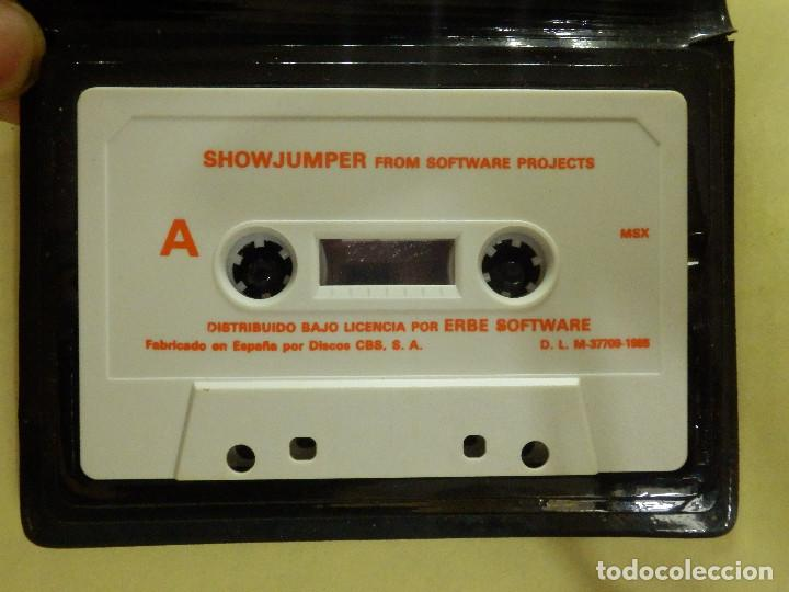 Videojuegos y Consolas: JUEGO PARA MSX Y COMPATIBLES - HARVEY SMITH - SHOWJUMPER - SOFTWARE PROJETS - TEAM SANYO - 1985 - Foto 2 - 100211107