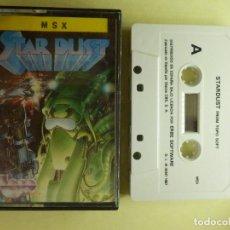 Videojuegos y Consolas: JUEGO PARA MSX Y COMPATIBLES - STAR DUST - FROM TOPO SOFT - 1987. Lote 100221871