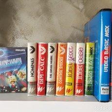 Videojuegos y Consolas: LOTE ANTIGUAS UTILIDADES MSX. Lote 100372259