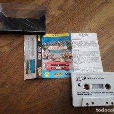 Videojuegos y Consolas: JUEGO CASETE MSX SEGA OUT RUN START 1988.. Lote 100507939