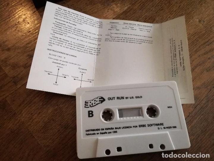 Videojuegos y Consolas: JUEGO CASETE MSX SEGA OUT RUN START 1988. - Foto 3 - 100507939