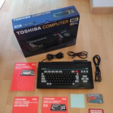 ORDENADOR MSX TOSHIBA HX-20I COMPLETO EXCELENTE ESTADO MSX2