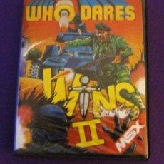 Videojuegos y Consolas: JUEGO WHO DARES WINS II PARA MSX EN ESTUCHE. Lote 101578287