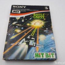 Videojuegos y Consolas: JUEGO BATTLE CROSS SONY MSX CARTRIDGE CARTUCHO.COMBINO ENVIO. Lote 103044583
