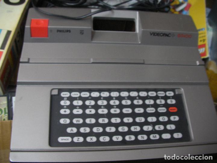 ANTIGUA CONSOLA PHILIPS VIDEOPAC G7400 (Juguetes - Videojuegos y Consolas - Msx)