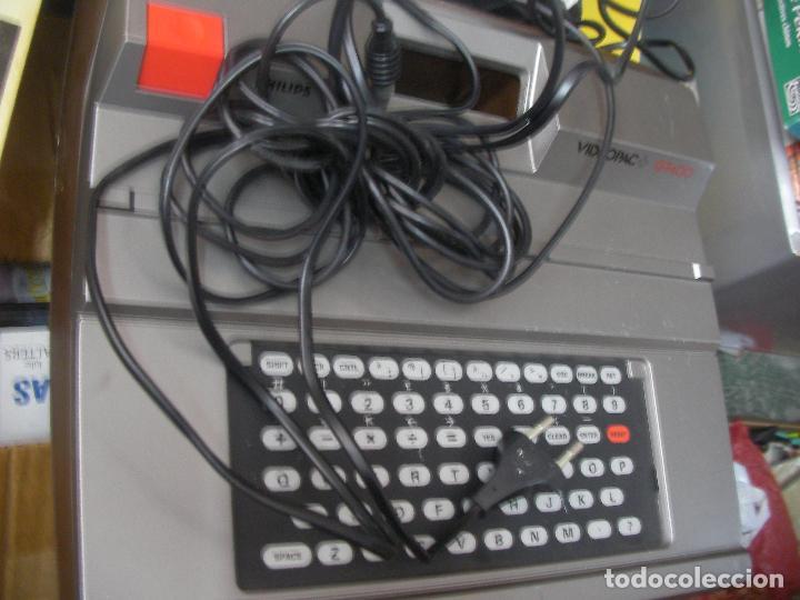 Videojuegos y Consolas: ANTIGUA CONSOLA PHILIPS VIDEOPAC G7400 - Foto 3 - 176797352