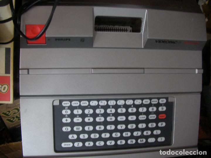 Videojuegos y Consolas: ANTIGUA CONSOLA PHILIPS VIDEOPAC G7400 - Foto 5 - 176797352