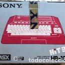 Videojuegos y Consolas: SONY MSX HIT BIT HB-101P NUEVA, EN CAJA PRECINTADA. Lote 105187807