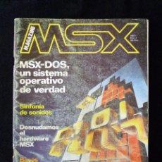 Videojuegos y Consolas: REVISTA Nº 2 MAGAZINE MSX, 1985, INFORMÁTICA, PROGRAMACIÓN, JUEGOS. Lote 105258707