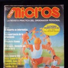Videojuegos y Consolas: REVISTA Nº 16 CHIP MICROS. LA REVISTA PRÁCTICA DEL ORDENADOR PERSONAL. 1985. PROGRAMACIÓN. Lote 105258891