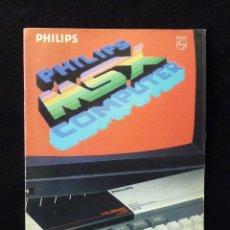 Videojuegos y Consolas: CATÁLOGO PHILIPS MSX COMPUTER, NEW MEDIA SYSTEMS. 1984. Lote 105259091