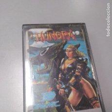 Videojuegos y Consolas: HUNDRA PARA MSX POR OCÉAN. Lote 107721567