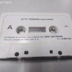 Videojuegos y Consolas: ALTA TENSION FROM DOMARK PARA MSX POR ERBE SOFTWARE. Lote 107721703