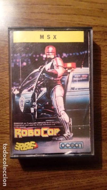 ROBOCOP. JUEGO MSX. ERBE. OCEAN. (Juguetes - Videojuegos y Consolas - Msx)