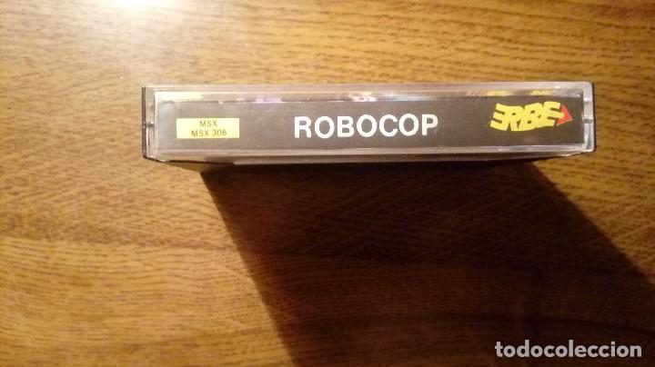 Videojuegos y Consolas: ROBOCOP. JUEGO MSX. ERBE. OCEAN. - Foto 2 - 109534115