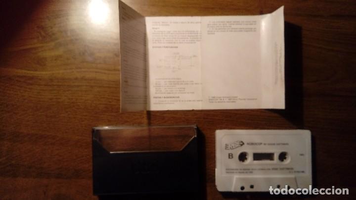 Videojuegos y Consolas: ROBOCOP. JUEGO MSX. ERBE. OCEAN. - Foto 5 - 109534115