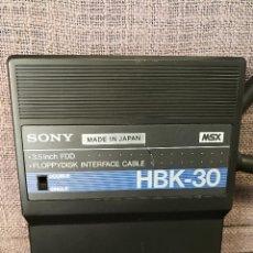 Videojuegos y Consolas: CONTROLADORA SONY INTERFACE FLOPPYDISK HBK 30 MSX . Lote 109267775