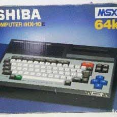 Videojuegos y Consolas: ANTIGUO ORDENADOR MSX THOSHIBA 64K. Lote 110215759
