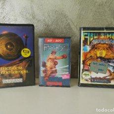 Videojuegos y Consolas: LOTE JUEGOS MSX ROCKY PROFANATION MASTER OF THE LAMP. Lote 112051627