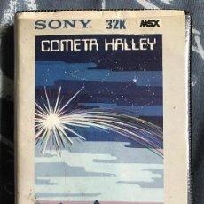Videojuegos y Consolas: ANTIGUO JUEGO MSX SONY 32K COMETA HALLEY. Lote 112619999