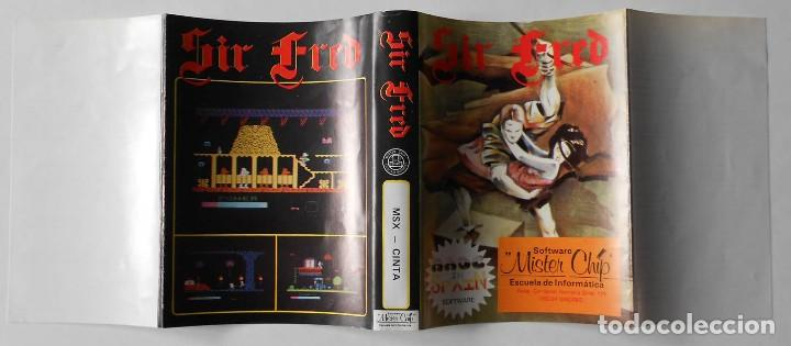 Sir fred - msx cinta - made in spain - mister c - Sold