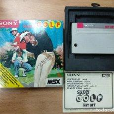 Videojuegos y Consolas: SUPER GOLF - VERSION EUROPEA - COMPLETO - MSX SONY. Lote 116515907