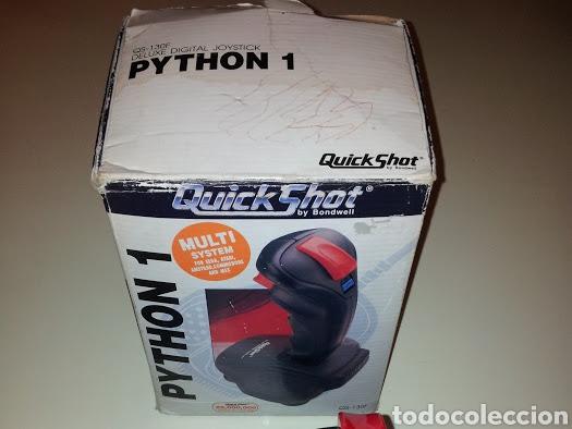 Videojuegos y Consolas: Antiguo Mando Joystick PYTHON 1 - Foto 3 - 116670623