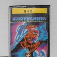 Videojuegos y Consolas: JUEGO CINTA MSX, WINTER GAMES, MARTECH, ERBE SOFTWARE. Lote 117224391