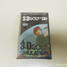 Videojuegos y Consolas: 918- JUEGO MSX 3D GOLF SIMULATION ( NUEVO / PRECINTADO) Nº 1. Lote 117748015