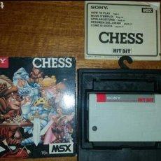 Videojuegos y Consolas: JUEGO MSX COMPLETO SONY CHESS. Lote 119068588