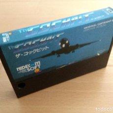 Videojuegos y Consolas: JUEGO CARTUCHO MSX MSX2 THE COCKPIT NIDECOM LOOSE CART. Lote 120424599