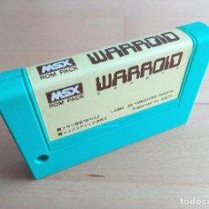 Videojuegos y Consolas: JUEGO CARTUCHO MSX MSX2 WARROID ASCII CORP LOOSE CART. Lote 120483211