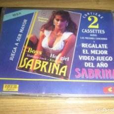 Videojuegos y Consolas: JUEGO PARA MSX SABRINA (CASSETTE) EN CASTELLANO - INCLUYE CINTA DE MUSICA CON 7 CANCIONES - SALERNO. Lote 120682431
