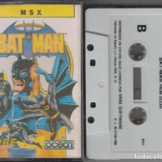 Videojuegos y Consolas: BATMAN VIDEOJUEGO CASSETTE MSX 1986. Lote 121820539
