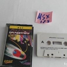 Videojuegos y Consolas: JUEGO PARA ORDENADOR MSX ARCANOID. Lote 121862031