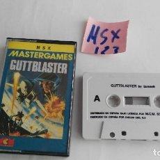 Videojuegos y Consolas: JUEGO PARA ORDENADOR MSX GUTTBLASTER. Lote 121862415