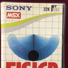 """Videojuegos y Consolas: MSX SONY """"FÍSICA """". Lote 122532952"""