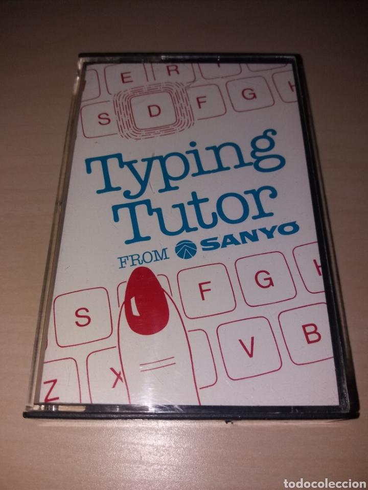 MSX - TYPING TUTOR - SANYO (Juguetes - Videojuegos y Consolas - Msx)