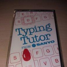 Videojuegos y Consolas: MSX - TYPING TUTOR - SANYO. Lote 122723896