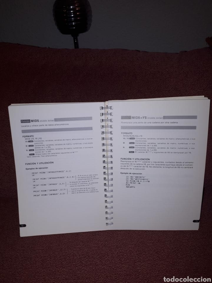 Videojuegos y Consolas: Manual de referencia para programacion MSX - BASIC HIT BIT 1984 - Foto 3 - 122767055