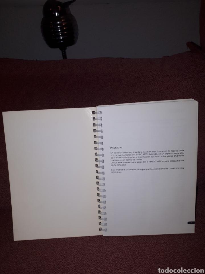 Videojuegos y Consolas: Manual de referencia para programacion MSX - BASIC HIT BIT 1984 - Foto 4 - 122767055