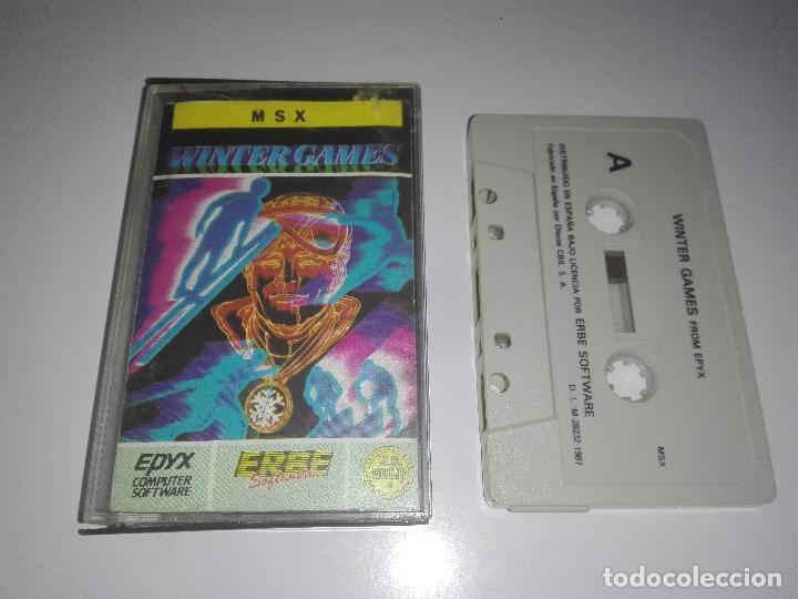 JUEGO WINTER GAMES MSX (Juguetes - Videojuegos y Consolas - Msx)