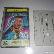 Videojuegos y Consolas: JUEGO WINTER GAMES MSX. Lote 122779251