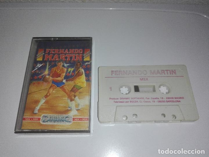 JUEGO MSX FERNANDO MARTIN (Juguetes - Videojuegos y Consolas - Msx)