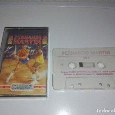 Videojuegos y Consolas: JUEGO MSX FERNANDO MARTIN. Lote 122780655